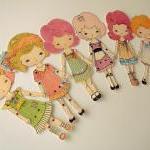 Articulated Paper Doll Print - Crim..