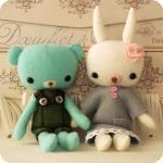 Pocket Teddy and Bunny pdf Pattern
